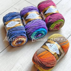 Alize Lanagold batik