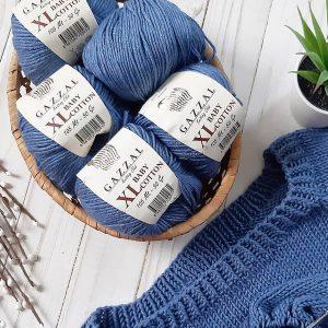 Пряжа Gazzal Baby Cotton XL