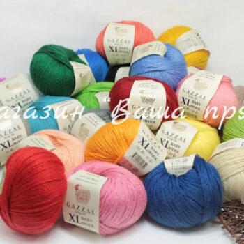 Пряжа Gazzal Baby Wool XL
