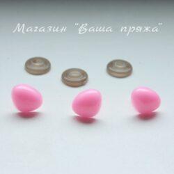 Носики безопасности треугольные Розовые
