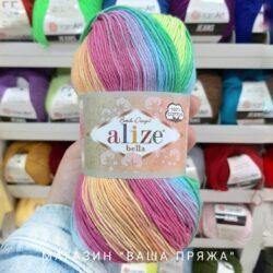 Пряжа Alize Bella Batik 100